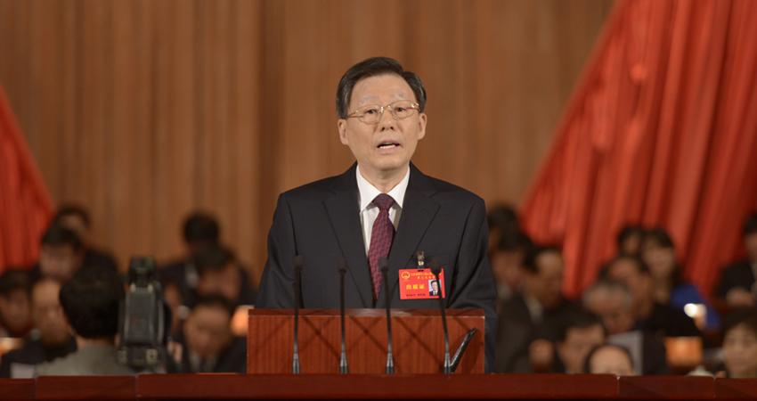 江苏省十二届人大二次会议开幕 李学勇作政府报告