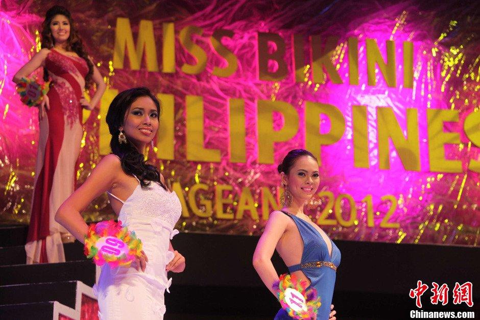 高清:菲律宾比基尼小姐大赛火爆上演