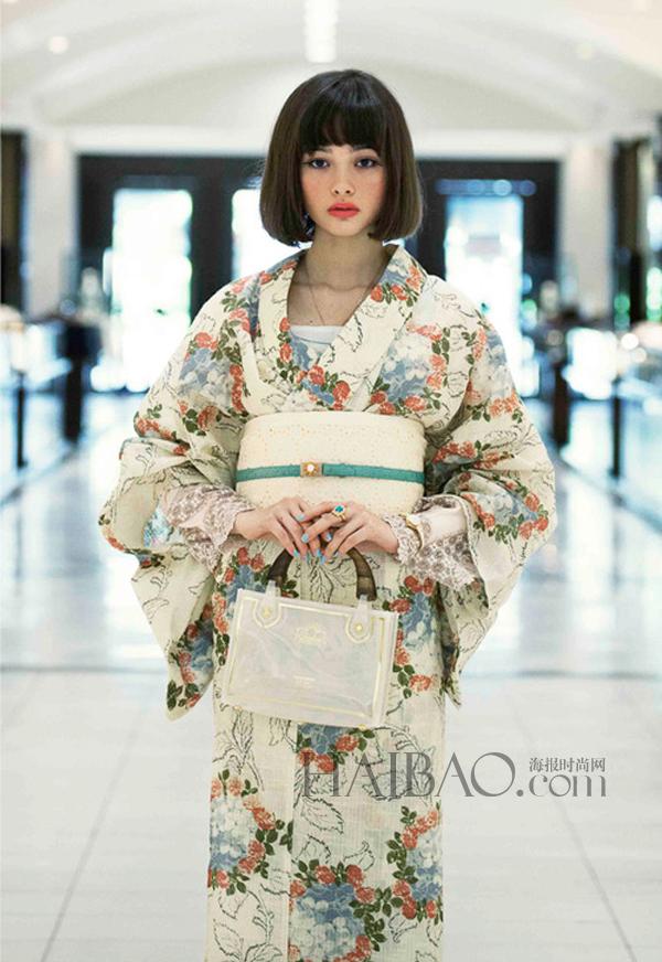16岁日本混血模特玉城tina天生尤物