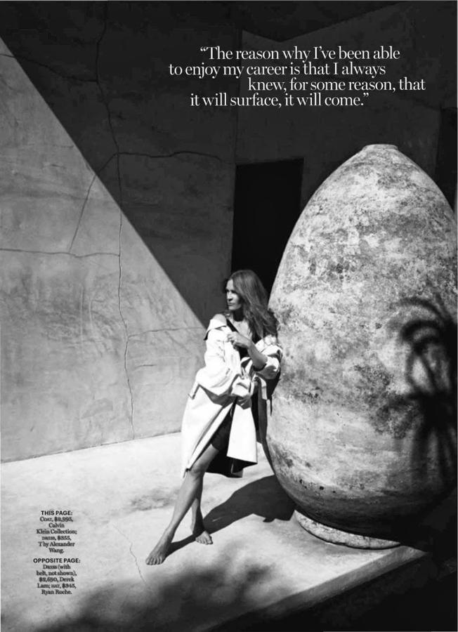claire》杂志封面