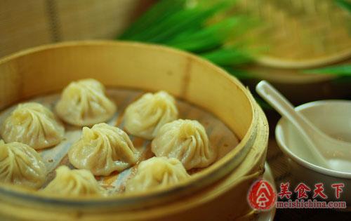 百度小吃发布上海糯米榜小笼包美食入选一条街美食金坛图片