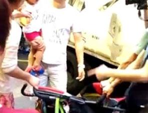 幼童香港路边便溺事件