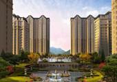 三庆城市主人山与湖的建筑