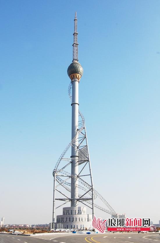 临沂广播电视塔高度跻身全国前十(图)