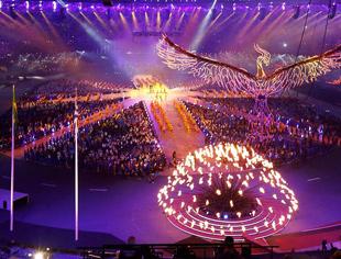 伦敦奥运会闭幕式成音乐狂欢派对