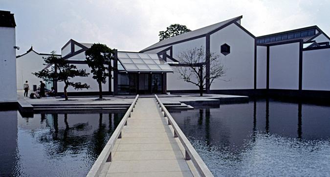园南还建有苏州园林博物馆
