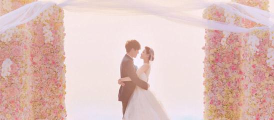 伊能静秦昊婚礼现场照曝光 两人甜蜜激吻