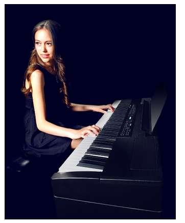 罗兰儿童电钢琴教育不可忽视乐器的配备图片
