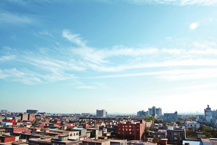 河南汝州空气质量优良 汝河风景如画