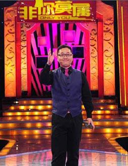 张绍刚主持天津卫视职场节目《非你莫属》