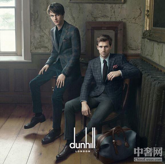 dunhill 秋冬广告大片 年轻化的英国摩登绅士