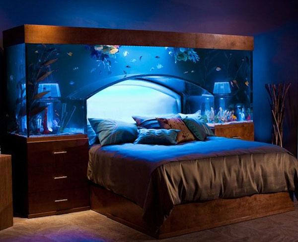 睡进创意里:卧室床头设计