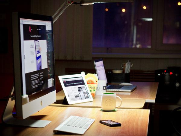 14个创意的设计师工作空间设计  还怕没灵感?