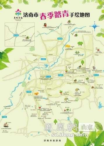 山东章丘市地图