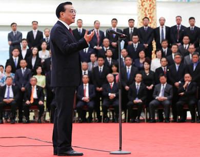 李克强会见首届世界华侨华人工商大会全体代表