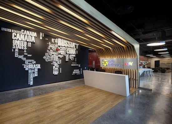 Ebay土耳其伊斯坦布尔办公空间设计
