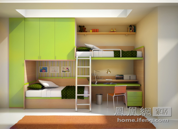 整体家居风潮来袭 儿童房也要整体定制