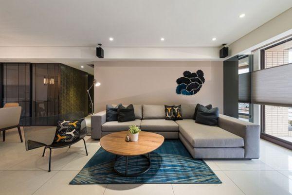 Element优雅时尚的创意住宅空间设计