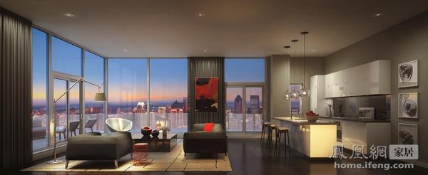 冷静利落线条塑造时代之美 25个现代风格客厅案例