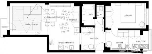 实用与美的化身 保加利亚超强收纳定制公寓