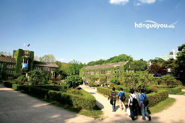 组图:韩国最美大学校园