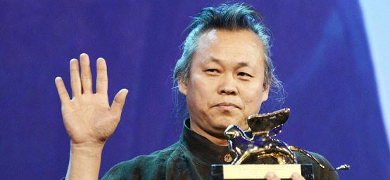 闭幕式颁奖礼现场:韩国导演金基德获金狮奖