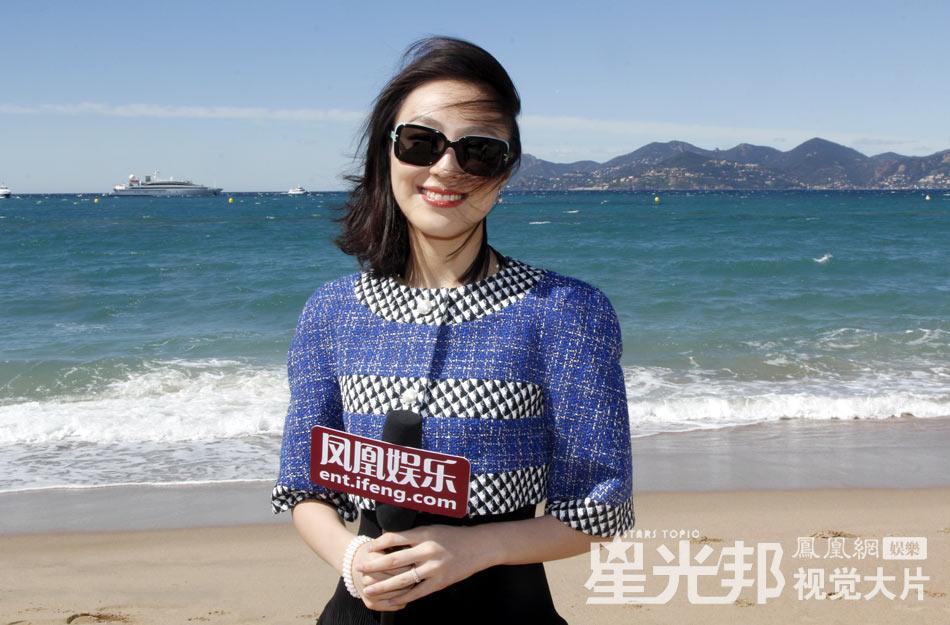 凤凰娱乐讯 第66届法国戛纳电影节期间,在好莱坞发展的华人新星黎妍为凤凰娱乐独家拍摄了一组海边写真。(卡卡西/图 莎莎/文)