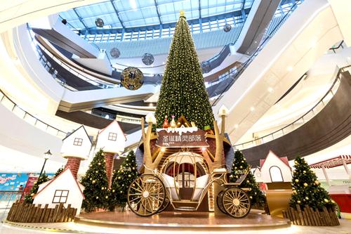 大西洋娱乐城网络赌博:在华润万象城 体验纯正的传统欧式圣诞和新年