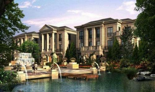 """在建筑外观上取意""""新古典欧式建筑""""风格"""