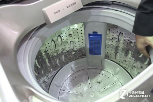 空气洗+13kg大容量 三洋洗衣机亮点多