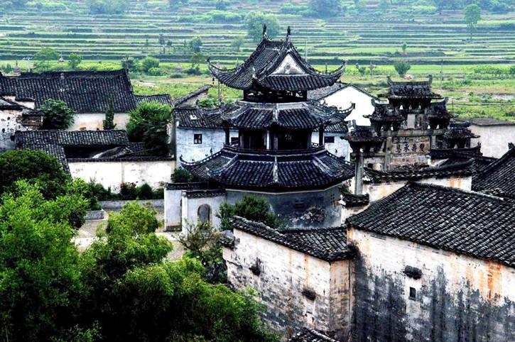 徽州古城 中国四大古城之一