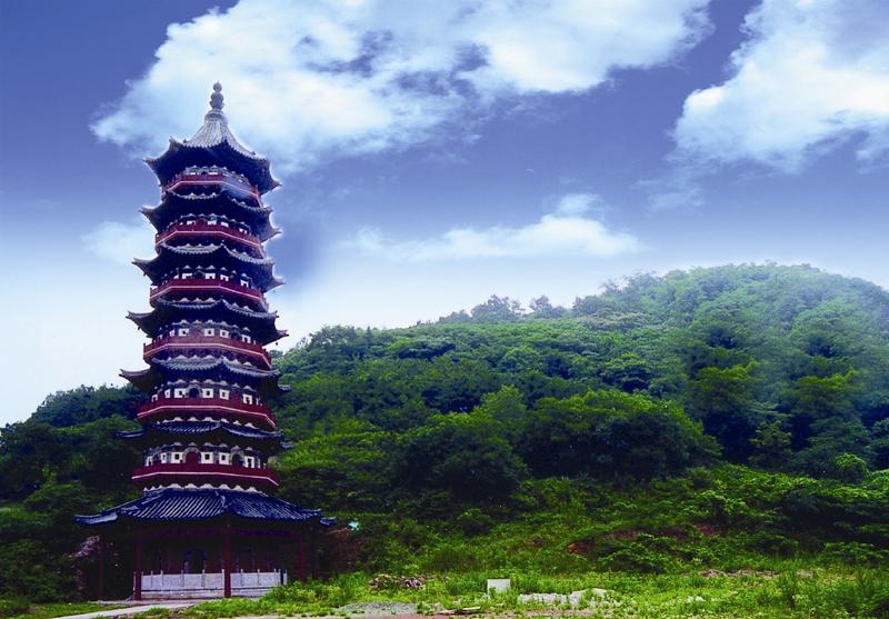 南京:牛首山 金陵四十八景之一