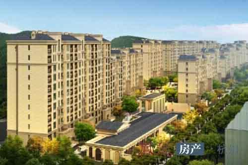 整体依托一线山景优势,规划9栋纯小高层法式建筑,约30000平米一体化法