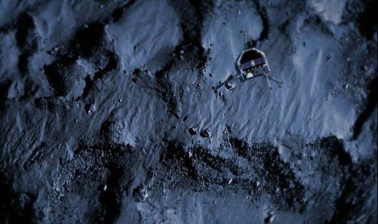 人类探测器首次成功登陆彗星