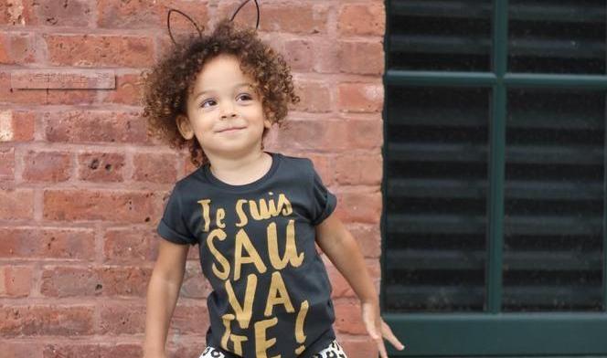 3岁小萝莉品位出众红遍时尚圈