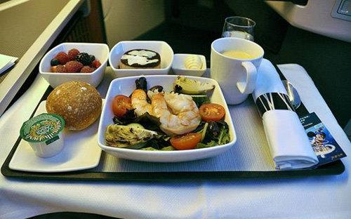 盘点国内外航空公司的美味飞机餐