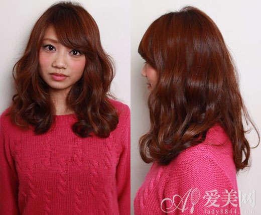 尚的韩式中长发发型