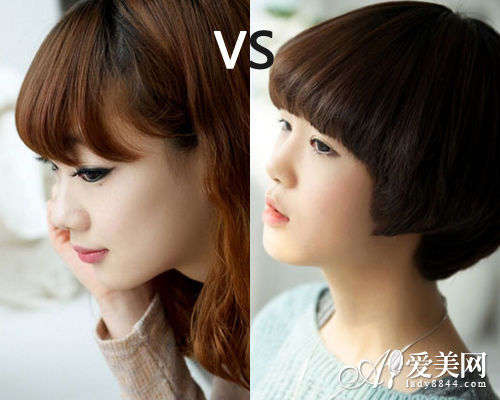 蘑菇头vs蛋卷头 可爱减龄发型大pk