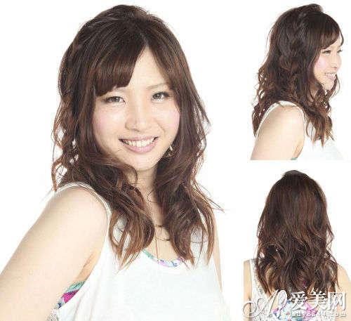 清新韩式可爱发型 甜美清新张扬个性