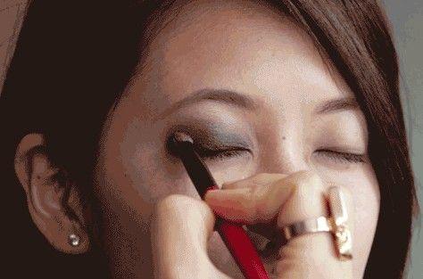 烟熏妆8步骤图解