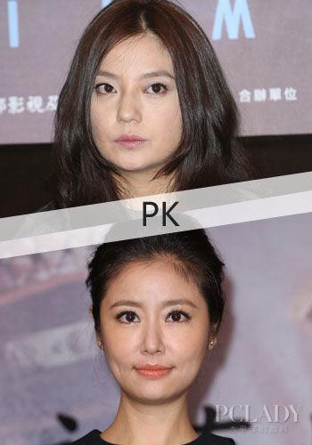 同龄女星容貌差很大 不保养变大妈