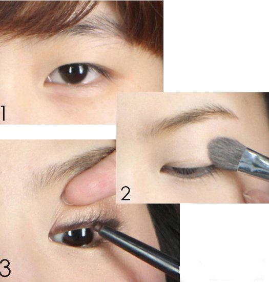 单眼皮化妆技巧|眼影|眼妆