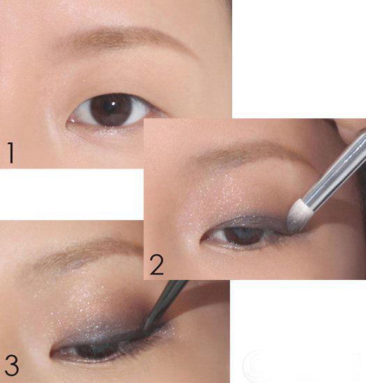 达人传授内双眼,单眼皮化妆技巧|眼影|眼妆_凤凰时尚