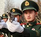 北京武警演练2012两会安保