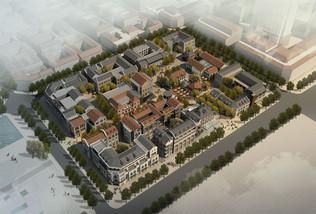 济南商埠区复建规划图