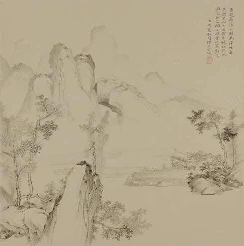 画家刘明杰:北体南韵古意今情的句型的阶段英语小学图片