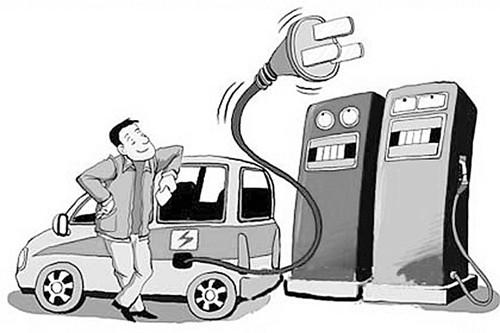 电动汽车带动电池商的发展