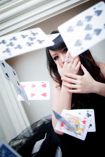 美女魔术师黄心琳