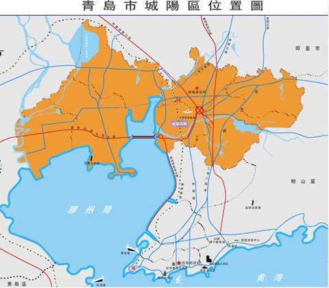 山东青岛城阳地图 图片合集