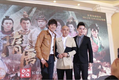 5亿重金开播的大型历史电视剧《隋唐英雄》在长沙打造发布热播,张卫最近举行的电视剧有哪些图片